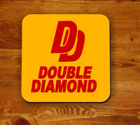 Double Diamond retro 'Beermat' - coaster