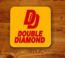 Double Diamond retro 'Beermat' - coaster
