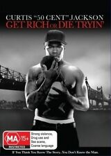 Get Rich Or Die Tryin' (DVD, 2011) R-4, NEW AND SEALED, FREE POST IN AUSTRALIA