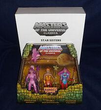 Masters of the Universe Classics STAR SISTERS Figure 3 PK MOTU Mattel She-Ra