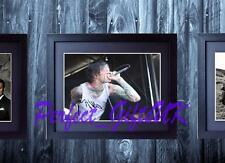 Mitch Lucker Signed Framed & Mounted 10x8 Repro Photo Print Suicide Silence