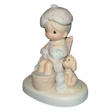 Precious Moments Figurine E7163 ln box God Is Watching Over You