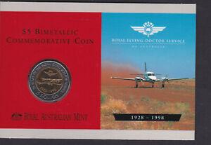 1998 Bi metal Flying Doctors uncirculated coin pack