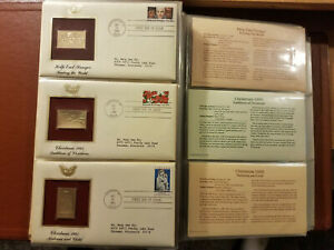 Golden Replicas of United States Stamps, 22kt Gold, 1984-1986, 96 Stamps in All