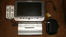 curtis lcd 7inch tv with accessories