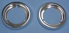 58 59 Chevy GMC Fleetside taillight lens bezels pair