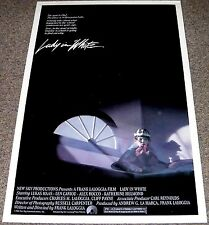 LADY IN WHITE ORIGINAL ROLLED MOVIE POSTER 27x41 LUKAS HAAS HORROR MOVIE GHOST