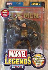 Marvel Legends Toad 5.5 inch Action Figure with Comic Book 2002 Series 1