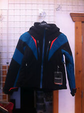 Youth Obermeyer Teen Girls Gray Ski Snowboard Jacket color Black size large