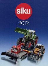 Prospekt Modellautokatalog Siku 2012 klein model cars D F GB Katalog Modellautos