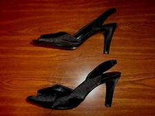 Mootsies Tootsies BLACK SHOES WOMEN'S SIZE 8 M (3.5 INCH HEEL)
