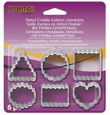 Premo Sculpey Crinkle Cutters- LOWEST COST IN UK - Fimo, Premo, Polymer, Liquid