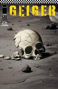 GEIGER #3 CVR A GARY FRANK (NM) 2021 IMAGE COMICS - GEOFF JOHNS 1ST PRINT