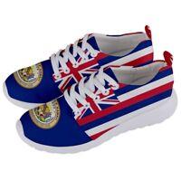 HAWAII Hawaiian Aloha Honolulu National Flag Men/Women Running Sneaker Shoes HSH