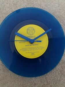 """Chelsea F.C. - Picture Disc - 7"""" Vinyl  Wall Clock made to order"""