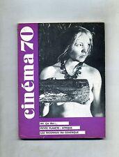 CINÈMA 70-Le Guide Du Spectateur N. 142#Federation Francaise des Cinè Clubs 1970