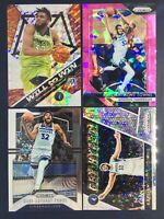 2018-19 Panini Prizm Karl Anthony Towns Pink Cracked Ice 4 Card Lot # 107