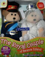 SKANSEN BEANIE KID WILL & KATE ROYAL COUPLE BEARS LIMITED EDITION 2011 BRAND NEW