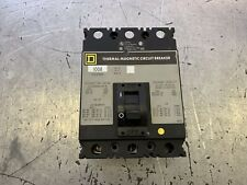 New ListingSquare D Circuit Breaker 100 Amp 480V 3 Pole Fcl34100