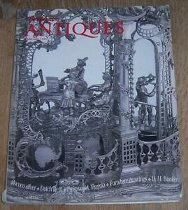 Antiques Magazine January 1995 Viennese Cabinetmakers Dutch Delft Houses Dress