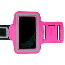 Hot Pink Sports Armband Running Gym Exercise Case for Apple iPhone SE 5S 5C 5 4S