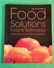 Glenis Heath - Food Solutions - Food & Technology - Units 1 + 2 Third Edn