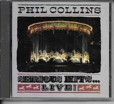 CD COMPIL LIVE 15 TITRES--PHIL COLLINS--SERIOUS HITS...LIVE