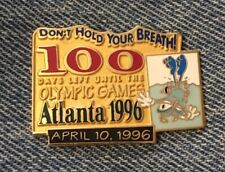 Synchronized Swimming Olympic Pin ~ 1996 Atlanta Games with Mascot IZZY