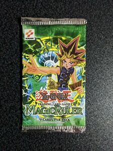 Yu-Gi-Oh! Magic Ruler MRL Booster Pack - Sealed and Unsearched Old Konami Logo
