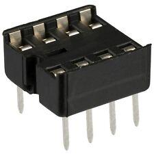 8 Pin DIP IC Socket Adaptor Solder Type (10 PCS) PC Mount... USA SELLER!!!