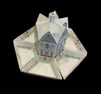 LENOX The Village Lazy Susan Jar Set Fine Porcelain W/ Wooden Rack Centerpiece