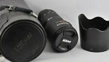 Nikon Nikkor AF 80-200mm f2.8D AF ED Telephoto Zoom Lens