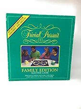 Trivial Pursuit Family Edition Master Game Used Free Shipping