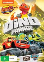 Blaze And The Monster Machines - Dino Parade - DVD Region 4 Free Shipping!