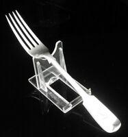 Antique Silver Dessert Fork , Charles T Maine, Channel Islands, London 1903