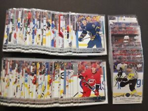 2018-19 UPPER DECK YOUNG GUNS SERIES 1 & 2 WITH UPDATE FINISH YOUR SET YOU PICK