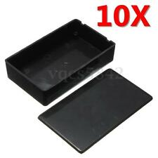 10x ABS Plastic Electronic Project Instrument Enclosure Case Box 100x60x25mm NEW
