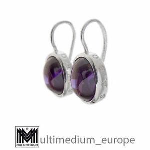 Thomas Sabo Silber Amethyst Ohrringe modernist silver earrings 🌺🌺🌺🌺🌺