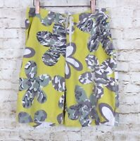 Stussy Mens W 33 Battle Flower Swim Trunk Board Shorts Yellow Camouflage $70