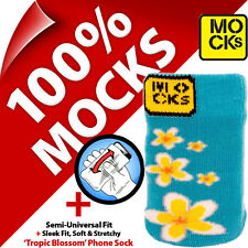 Mocks Blossom Mobile Phone MP3 Sock Case Cover Pouch Sleeve for iPhone 4S 5S SE