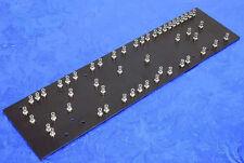 """Black Fibre Turret Terminal Board For DIY Fender 5F6A Tweed 4X10"""" Bassman Amps"""