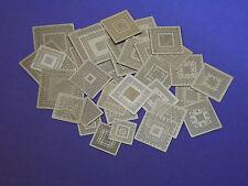 36 NVidia BGA Schablonen Stencils  Reballing Reflow Solder Ball Löten Chip