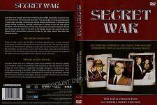 SECRET WAR. THE MAFIA CONNECTION & DOUBLE AGENT TRICYCLE.