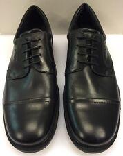 d3673f4370a7a Ecco Dublin Cap Toe Oxfords Lace Black Leather Men 12 12.5 US 46 EU 622524  01001