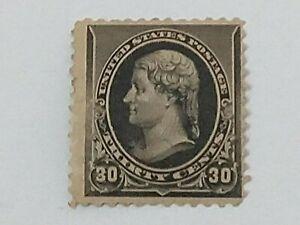 U.S. Scott #228 Thomas Jefferson F/VF OG MNH Stamp - Scott $900.00