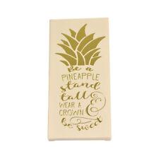 Ser un soporte de piña alto Chocolate Bar & tarjeta en una idea de regalo
