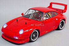 TAMIYA 1/10 RC Car PORSCHE 911 GT2 TURBO TA02SW 2.4GHZ RED -RTR-
