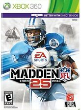 Madden Nfl 25 1989 2014 Xbox 360 Video Game Football Action Kinect Sensor Play