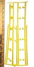 4pc 1970s Aurora AFX G+ Slot Car YELLOW PLASTIC GUARD RAIL RaceWall Guardrail A+