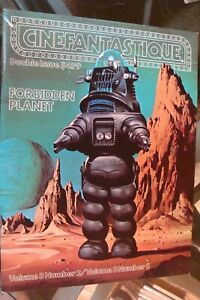 😍Cinefantastique 1979 magazine volume 8 # 2 3  FORBIDDEN PLANET High Grade book